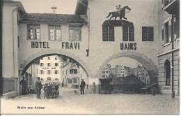 Motiv Aus Andeer Hotel Fravi - GR Graubünden