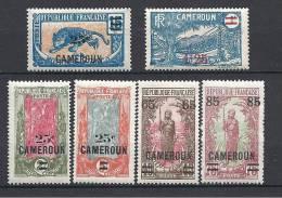 CAMEROUN  N� 101 � 105 + N� 133 NEUF* TTB