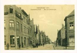 Nieuport 1923   Duinkerkestraat - Rue De Dunkerque - Nieuwpoort - Nieuwpoort