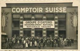 Suisse -ref C147- Rassemblement National Des Groupes D Oxford - Lausanne   - Carte Bon Etat - - VD Vaud