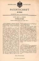 Original Patentschrift - Otto Arlt In Görlitz , 1895 , Apparat Zum Siegeln , Siegel , Siegellack !!! - Stempel & Siegel
