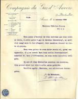 ANVERS  COMPAGNIE DU GAZ D'ANVERS   BERCHEM ( Zurenborg)   1.10.1920 - Belgique