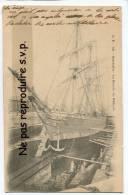 - 40 - Marseille - Le Bassin Du Rabour - Rare, Grand Voilier A Sec, écrite, 1916, Splendide, Très Bon état, Scans. - Vieux Port, Saint Victor, Le Panier