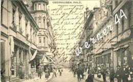 Oberhausen V. 1914  Friedrich Karlstrasse Mit Geschäfte - Siehe Foto !!  (32599) - Oberhausen