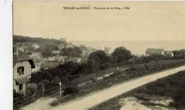 76- VEULES-les-ROSES- Vue Prise De La Côte,à L´Est - Veules Les Roses