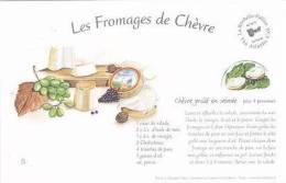 RECIPE CARD - LES FROMAGES DE CHEVRE - Recipes (cooking)