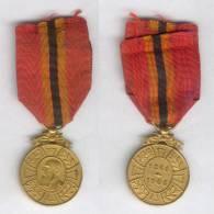 DECORATION  CROIX MEDAILLE COMMEMORATIVE DU REGNE DE LEOPOLD II 1865 1905 - Belgique