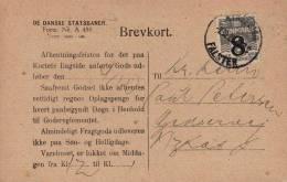 Denmark; Preprinted Card 1922 - Lettres & Documents