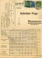 N152 Werbekarte DR St. Löwenberg N. Hannover Gepr. - Deutschland
