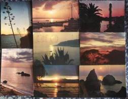 MOTIVES FROM THE ADRIATIC, Yugoslavia, Lot Of 8 Postcards - Cartoline