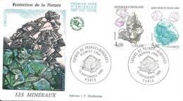_38 Les Minéraux Fluorite Calcite 1986 - FDC
