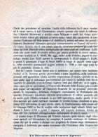 CREMONA--DIREZIONE-COMIZIO  AGRARIO-10-10-1885-SPEDIT A ALLA GIUNTA MUNICIPALE-INTERESSANTE DOCUMENTO - Wetten & Decreten
