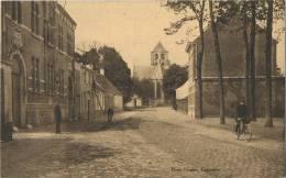Ekeren :  Hofstraat En Oude Kerk   (  HOELEN ) - Belgique