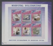 Nicaragua (2012) Yv. 2681/86  / Doctor - Medecin - Hospital - Health - Sante - Beroepen