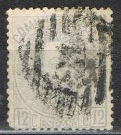 Sello 10 Cts Amadeo 1872, Parrilla Numeral 21 De BURGOS, Num 121 º - 1872-73 Reino: Amadeo I