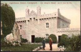 Gt. Orme's Head - Lighthouse, Keeper, Coastcard - Wales - Glamorgan