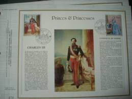 474  MONACO  CHARLES III ET ANTOINETTE DE MERODE  1196/97 - Non Classés