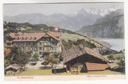 CPA  St Beatenberg Hôtel U Pension Post  (pk9636) - BE Berne