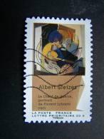 FRANCE OBLITERE 2012 N° 703 ALBERT GLEIZES SERIE DU CARNET CUBISME AUTOCOLLANT ADHESIF - France