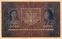 BANQUE DE POLOGNE 5000 - Polen