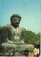 1805. Postal Gran Buda En Kamakura (Kanagawa) Japon - Otros