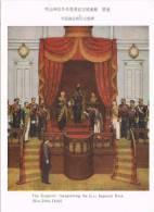 1806. Postal Emperador De JAPON  Inaugurando Imperail Diet 1890 - Otros