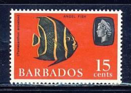 Barbados  -   1965  Marine Life   15c   Wmk.Sideways  -  Mnh - Barbados (...-1966)