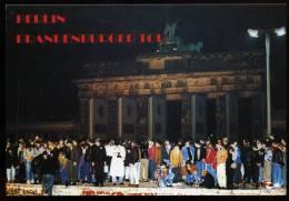 AK Berlin, Mauerfall, Grenzöfnung, 1989 - Brandenburger Tor