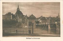 CPA Suisse - Basel Mit Rheinbrucke - BS Bâle-Ville