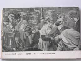 (75) - PARIS - UN COIN DES HALLES CENTRALES - ANIMEE - COLLECTION DU PETIT JOURNAL - 1904 - France