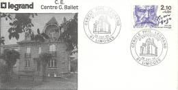 _38 Centre G Ballet Cercle Philatélique Legrang 1985 Limoges - 1980-1989
