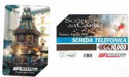 TELECOM ITALIA - C.& C. F3026 -  FIRENZE: SCOPPIO DEL CARRO      - USATA - Italia