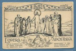 CARTOLINA COMMEMORATIVA DELL´OPERA APOSTOLICA - NUOVA - Jesus