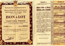 BON A LOT - Exposition Internationale De La Houille Blanche Et Du Tourisme - Grenoble - Tourisme