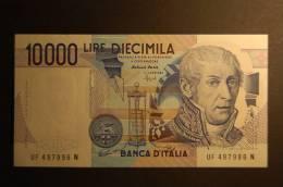 ITALIA 10000 LIREVOLTAI FDS PERFETTO - [ 2] 1946-… : Repubblica