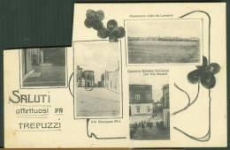 °°° 24068 - SALUTI AFFETTUOSI DA TREPUZZI - VEDUTE (LE) 1932 °°° - Lecce