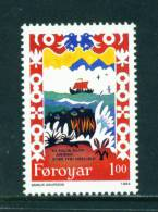 FAROE ISLANDS - 1994 Traditional Song 1k Unmounted Mint - Féroé (Iles)