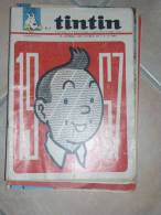 TINTIN JOURNAL DE TINTIN  N°949  ILLUSTRATION COUVERTURE   HERGE - Tintin
