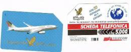 TELECOM ITALIA - C.& C. F3055 - GULF AIR: AEREO      - USATA - Italia