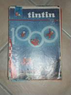 TINTIN JOURNAL DE TINTIN  N°1000  ILLUSTRATION COUVERTURE   HERGE - Tintin
