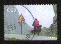 NORVEGE Oblitération Ronde Europa 2004 Les Vacances Cyclotourisme 6.00 WNS NO014.04 - Usados