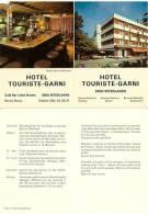 Suisse - Interlaken - Hotel Touriste Garni - Flyer Format Carte Postale - BE Berne