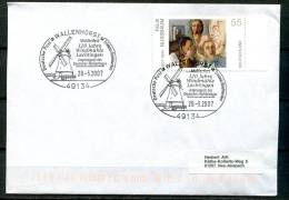 "Germany 2007 Sonderbeleg,Postal Cover Windmühle Mi.Nr.2432 Mit SST""Wallenhorst-120 Jahre Windmühle Lechtlingen ""1Beleg - Mühlen"