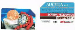 TELECOM ITALIA - C.& C. F3076 - TORRE DEL GRECO: AUCELLA  A VICENZAORO (CORALLI E CAMMEI)  - USATA - Italia