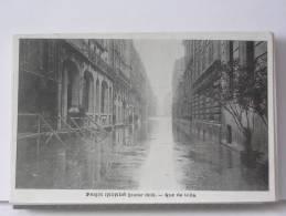 (75) - PARIS INONDE (JANVIER 1910) - RUE DE LILLE - Arrondissement: 07