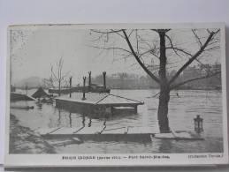 (75) - PARIS INONDE (JANVIER 1910) - PORT SAINT NICOLAS - Arrondissement: 12