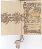 VITTORIO EM. ROMA 7 MAGGIO 1908 RICEVIMENTO IN  GIARDINO MUSICA DEL1° REGGIMENTO GRANATIERI -2 0882-15384-383 - Menus