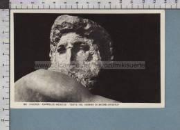 S749 ARTE MICHELANGIOLO FIRENZE CAPPELLE MEDICEE TESTA DEL GIORNO FP - Sculptures