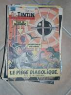 BLAKE ET MORTIMER JOURNAL DE   TINTIN  N°628  ILLUSTRATION COUVERTURE   JACOB - Blake Et Mortimer