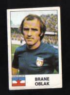ITALY - ( BRANE OBLAK )  CALCIATORI 1975 - 76 -  CARD BY PANINI - Autographes